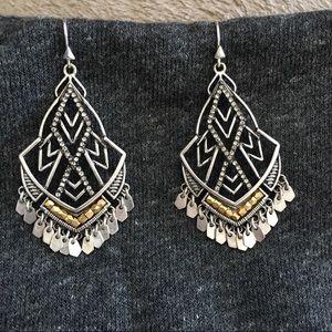 Stella & Dot Earrings - gorgeous, like new!